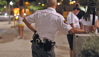 Israeli-security-guards-now-required-to-leave-guns-at-work